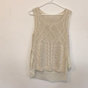 Cream Sweater from Anthropologie